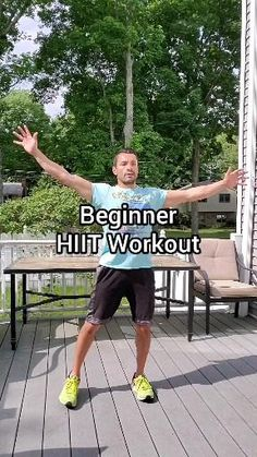 Fitness Workouts, Full Body Hiit Workout, Hitt Workout, Hiit Workout At Home, Gym Workout Videos, At Home Workouts, Beginner Cardio Workout, Mma Workout, Step Workout