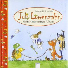 Juli Löwenzahn - Mein Kindergarten-Album von Andreas H. Schmachtl http://www.amazon.de/dp/3401096087/ref=cm_sw_r_pi_dp_NIrVvb0M58XBK