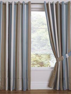 Whitworth Lined Jacquard Eyelet Curtains