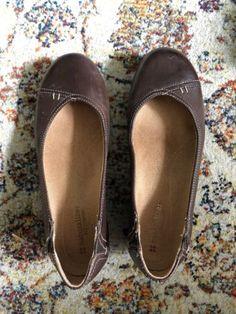 Naturalizer 8 Brown Leather  Genie