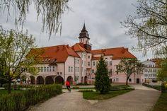 Town Hall in Ilawa (Eylau), Poland
