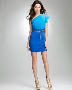 A cute blue dress