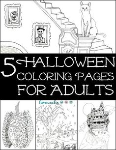 7 Free Printable Coloring Books PDF Downloads