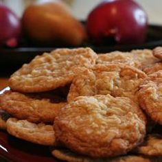 Chewy Coconut Cookies. I made these and they came out a little flat. They were good though. I may try them again.