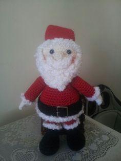 Papai Noel! Amigurumimos
