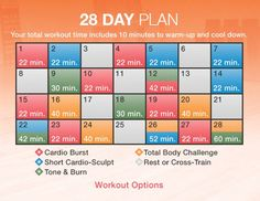 Great article! How to create a fitness schedule that fits into your life...