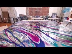Artist, Holly Voden, Art Resin Time Lapse - YouTube Example Of Abstract, Pebeo Paint, Epoxy Resin Art, Pour Painting, Acrylic Pouring, Acrylic Art, Resin Crafts, Art Techniques, Art Tutorials