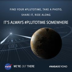 "NASA Lets You Experience ""Pluto Time"" with New Custom Tool 6/5/15"