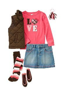 cute fall outfit for Miss M