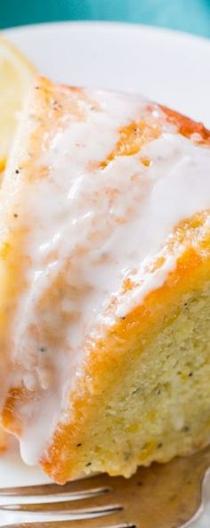 Sallys Baking Addiction Glazed Lemon Poppy Seed Bundt Cake