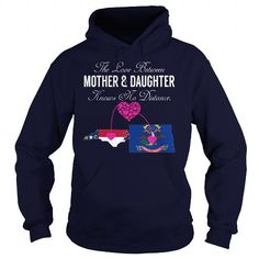 The Love Between Mother And Daughter - North Carolina North Dakota #stateshirts #hometownshirts #usa #North Dakota #North Dakotatshirts #North Dakotahoodies