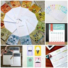 New Year, New Calendar: 20 Free 2014 Printable Calendars