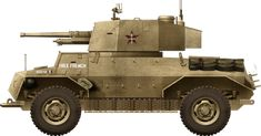 The Marmon-Herrington Mk.IV was a South African armored car of the Second World War, used by the Commonwealth and other nations until the Armored Vehicles, Armored Car, Tank Drawing, Self Propelled Artillery, Italian Campaign, Tank Armor, Free In French, Engin, World War Two