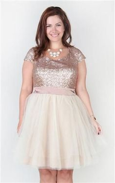 a478d9d2f3b plus size dress with sequin cap sleeve bodice and full tulle skirt Tulle  Skirt Plus Size