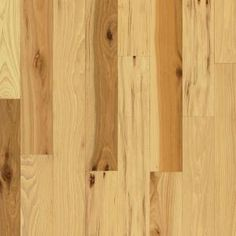 Bruce Hickory Country Natural 3/4 in. Thick x 2-1/4 in. Width x Random Length (up to 84 in.) Solid Hardwood Flooring-AHS601 at The Home Depo...