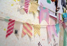 Five pretty ways to use Washi Tapes by Azumi Izuno Scrapbooking Layouts, Scrapbook Pages, Stampin Up Cards, Embellishments, Stuff To Do, Banner, Wraps, Paper Crafts, Packaging