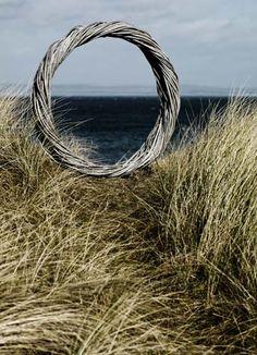 'Spitit of Air' by Lizzie Farey, Scottish Basketmaker