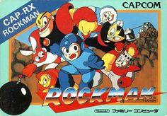 """17/12/1987. ロックマン Rokkuman, el """"asombroso Mega-niño"""" llegaba a las tiendas  japonesas exponiendo los geniales elementos que caracterizarían a este titulo ícono de Capcom. El padre de la criatura Keiji Inafune, inauguraba con Mega Man (tal lo conocimos por estas tierras) una franquicia indispensable para los 8 bits de Nintendo."""