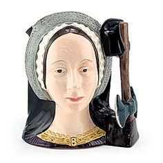 Royal Doulton Miniature Character Jug, Anne Boleyn