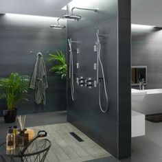 17 Unique Bathroom Shower Design That Looks More Comfort - Home And Apartment Ideas Dream Bathrooms, Beautiful Bathrooms, Modern Bathroom, Italian Bathroom, Luxurious Bathrooms, Showers Without Doors, Ideas Baños, Shower Cabin, Bathroom Renos