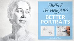 Learn Portrait Drawing Basics ins Online Class: Getting Started With Portraits