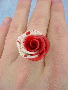 These would be so cute for the bridesmaids.  Obviously, the bride is going to have her own ring.