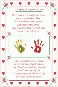 valentines day poems son to mother