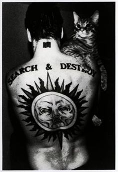 Henry Rollins and Kitteh