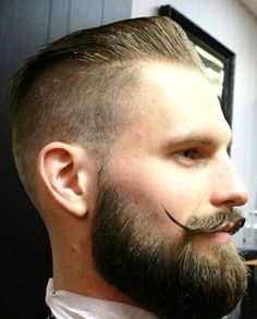 perfect groomed beard