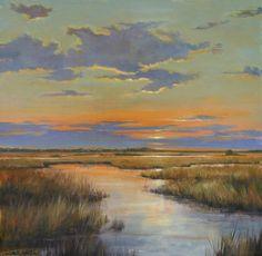 Autumn Sunset, by Paula B. Holtzclaw