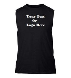 DG Custom Graphics is your premier site for custom designed apparel.    We can design your sleeveless tee with your custom artwork, text or business logo. Forward your artwork with one color. If additional colors are needed we can provide a custom quote.    Forward us the following info and we will send you a proof of the finished product.  1.Pick One Color (Choices: Blue, Black, White, Red) Additional colors available upon request and with a surcharge.    2.Upload Artwork to us. Include…