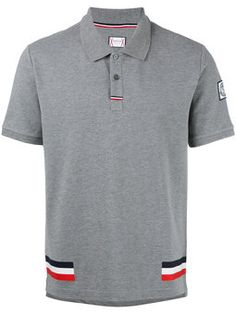 283713503c4 tri-colour stripe polo shirt Team Wear
