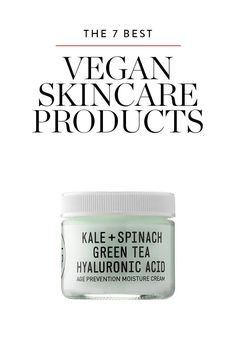 The 7 Best Vegan Skin Care Products via @PureWow