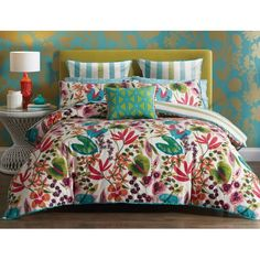 Bargain - $111.97 (was $159.95) - Nalina Queen Quilt Cover - Floral @ Bed Bath N` Table