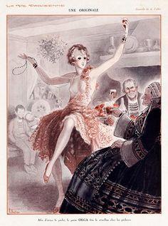 """la vie parisienne """" Afin d'éviter les péchés, la petite Olga fête le réveillon chez les pêcheurs"""""""
