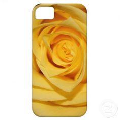 Yellow Rose Petal iPhone Case $39.95