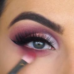 Untitled - Summer Make-Up Makeup Goals, Makeup Inspo, Beauty Makeup, Hair Makeup, Smoky Eye Makeup, Eyeshadow Makeup, Eyeshadows, Make Up Inspiration, Makeup Obsession