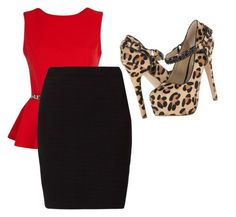 """""""Untitled #846"""" by ania18018970 ❤ liked on Polyvore featuring River Island, OPUS Fashion and Steve Madden"""