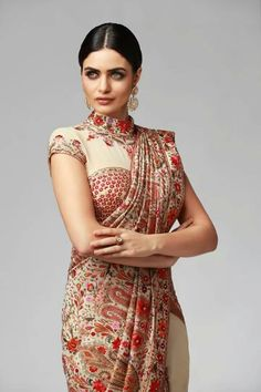 love the look and colours Trendy Sarees, Stylish Sarees, Indian Attire, Indian Wear, Blouse Patterns, Blouse Designs, Ethnic Fashion, Indian Fashion, Indian Dresses
