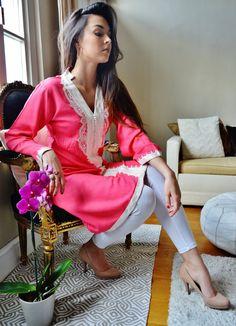 Spring Pink Marrakech Dress  perfect for by MaisonMarrakech