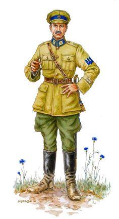1917 Russian Civil War  White Guard, pin by Paolo Marzioli