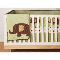 Mod Elephant - 4 Piece Crib Set