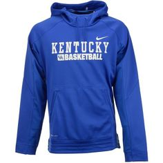 Nike Men's Kentucky Wildcats Elite Basketball Hoodie ($75) ❤ liked on Polyvore featuring men's fashion, men's clothing, men's hoodies, royalblue, mens sweatshirts and hoodies, mens hoodies, mens hoodie, mens hooded sweatshirts and nike mens hoodies