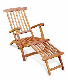 Another great find on #zulily! Steamer Lounge Chair #zulilyfinds