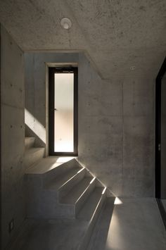 Stairwell with window