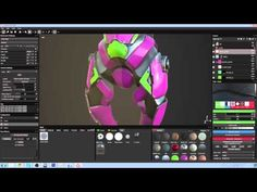 Substance Painter tutorial: Texture a game robot - YouTube