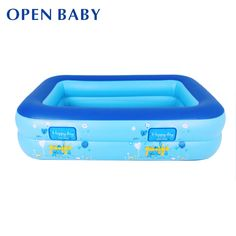 Baby Swimming Pool Eco-friendly PVC Portable Children Bath Tub Kids Mini-playground Baby Inflatable Pool For Summer Swimming Lessons For Kids, Children Swimming Pool, Baby Swimming, Swim Lessons, Outdoor Swimming Pool, Swimming Pools, Pool Fun, Pool Toys And Floats, Teaching Safety
