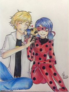 I'm finding ways to draw the whole love square while focusing on one ship and I did it! ✨ Obviously, it was inspired by a Day 21 in MariChat May: Chat Noir Doll Meraculous Ladybug, Ladybug Comics, Ladybug Anime, Miraculous Ladybug Wallpaper, Miraculous Ladybug Funny, Cute Profile Pictures, Pictures To Draw, Miraculous Characters, Cinderella Disney