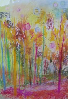 Magic Forest Paintings. Fairy tales full of forests translated into art works