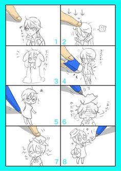 Give Haru a mackerel and the boy no longer complains! ... Drawn by yakk8o_o8 ... Free! - Iwatobi Swim Club, haruka nanase, haru nanase, haru, nanase, haruka, free!, iwatobi